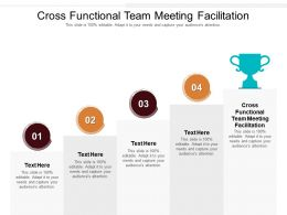 Cross Functional Team Meeting Facilitation Ppt Powerpoint Presentation Ideas Inspiration Cpb