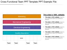 Cross Functional Team Ppt Template Ppt Example File