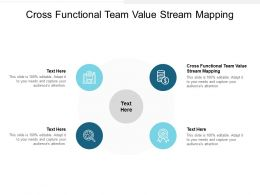 Cross Functional Team Value Stream Mapping Ppt Powerpoint Presentation Ideas Introduction Cpb