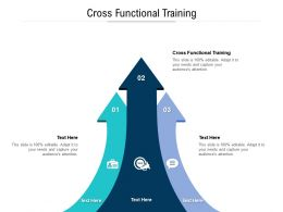 Cross Functional Training Ppt Powerpoint Presentation Icon Styles Cpb