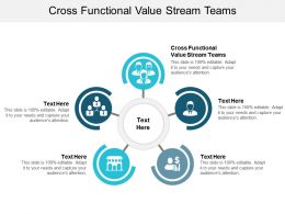 Cross Functional Value Stream Teams Ppt Powerpoint Presentation Show Design Ideas Cpb