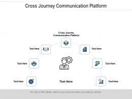 Cross Journey Communication Platform Ppt Powerpoint Presentation Pictures Deck Cpb