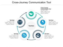 Cross Journey Communication Tool Ppt Powerpoint Presentation File Pictures Cpb