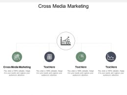 Cross Media Marketing Ppt Powerpoint Presentation Styles Model Cpb