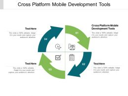 Cross Platform Mobile Development Tools Ppt Powerpoint Presentation File Cpb