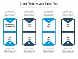 Cross Platform Web Based Tool Ppt Powerpoint Presentation Show Graphic Tips Cpb