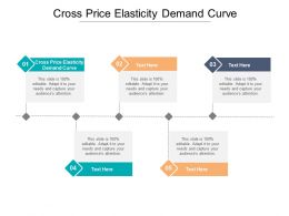 Cross Price Elasticity Demand Curve Ppt Powerpoint Presentation Portfolio Diagrams Cpb