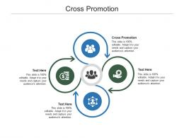 Cross Promotion Ppt Powerpoint Presentation Icon Clipart Images Cpb