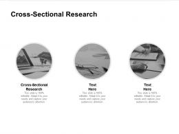 Cross Sectional Research Ppt Powerpoint Presentation Icon Slide Portrait Cpb