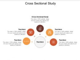 Cross Sectional Study Ppt Powerpoint Presentation File Show Cpb
