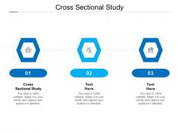 Cross Sectional Study Ppt Powerpoint Presentation Summary Graphics Cpb