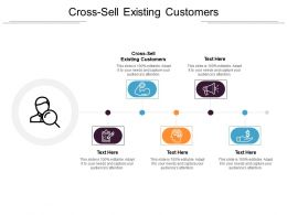 Cross Sell Existing Customers Ppt Powerpoint Presentation File Model Cpb