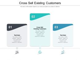 Cross Sell Existing Customers Ppt Powerpoint Presentation Pictures Show Cpb
