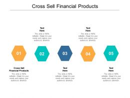Cross Sell Financial Products Ppt Powerpoint Presentation File Icon Cpb