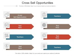 Cross Sell Opportunities Ppt Powerpoint Presentation Gallery Gridlines Cpb