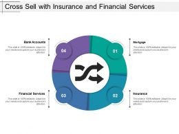 Cross Sell With Insurance And Financial Services
