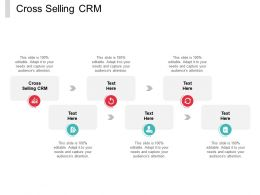 Cross Selling CRM Ppt Powerpoint Presentation Styles Layout Ideas Cpb
