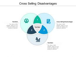 Cross Selling Disadvantages Ppt Powerpoint Presentation File Samples Cpb