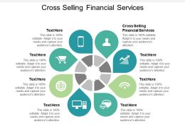 Cross Selling Financial Services Ppt Powerpoint Presentation Outline Deck Cpb