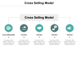 Cross Selling Model Ppt Powerpoint Presentation Inspiration Aids Cpb