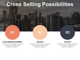 Cross Selling Possibilities Ppt Powerpoint Presentation Outline Examples Cpb