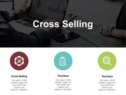 Cross Selling Ppt Powerpoint Presentation Model Show Cpb