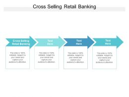 Cross Selling Retail Banking Ppt Powerpoint Presentation Model Samples Cpb