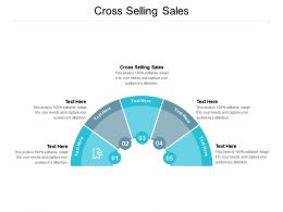 Cross Selling Sales Ppt Powerpoint Presentation Portfolio Good Cpb