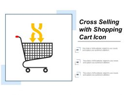Cross Selling With Shopping Cart Icon