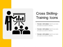 Cross Skilling Training Icons
