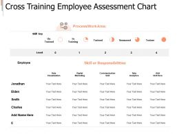 Cross Training Employee Assessment Chart Skill Ppt Powerpoint Presentation Styles Structure
