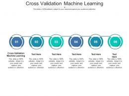 Cross Validation Machine Learning Ppt PowerPoint Presentation Professional Cpb