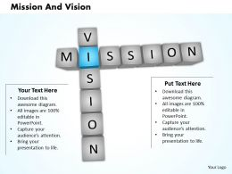 Crossword Diagram For Business Vision 0214