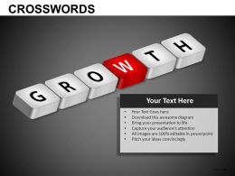Crosswords Powerpoint Presentation Slides db