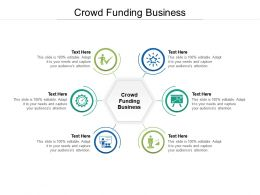 Crowd Funding Business Ppt Powerpoint Presentation Infographics Smartart Cpb