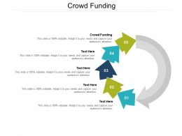 Crowd Funding Ppt Powerpoint Presentation Show Deck Cpb
