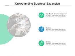 Crowdfunding Business Expansion Ppt Powerpoint Presentation File Themes Cpb