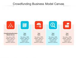 Crowdfunding Business Model Canvas Ppt Powerpoint Presentation Icon Inspiration Cpb