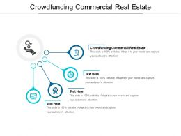 Crowdfunding Commercial Real Estate Ppt Powerpoint Presentation Layouts Sample Cpb