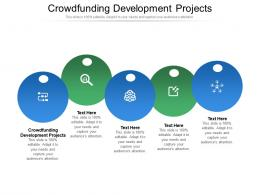 Crowdfunding Development Projects Ppt Powerpoint Presentation File Themes Cpb