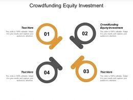 Crowdfunding Equity Investment Ppt Powerpoint Presentation Styles Themes Cpb
