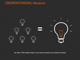 Crowdfunding Ideation Powerpoint Graphics