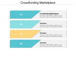 Crowdfunding Marketplace Ppt Powerpoint Presentation Model Background Image Cpb