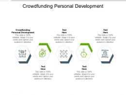 Crowdfunding Personal Development Ppt Powerpoint Icon Layout Cpb