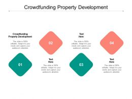 Crowdfunding Property Development Ppt Powerpoint Presentation Professional Display Cpb