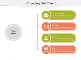 Crowding Out Effect Ppt Powerpoint Presentation Professional Deck Cpb