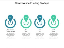 Crowdsource Funding Startups Ppt Powerpoint Presentation Ideas Design Inspiration Cpb