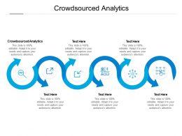 Crowdsourced Analytics Ppt Powerpoint Presentation Icon Background Cpb
