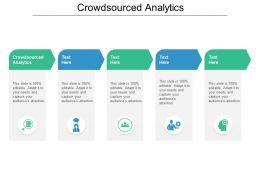 Crowdsourced Analytics Ppt Powerpoint Presentation Layouts Portrait Cpb