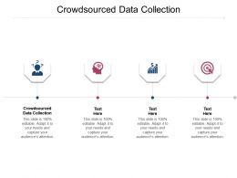 Crowdsourced Data Collection Ppt Powerpoint Presentation Layouts Example Introduction Cpb